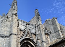 Gothic church of San Miguel , Jerez Royalty Free Stock Images