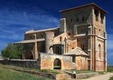 Gothic Church of Santiago Apostol. In Villamorón , Burgos , Spain Stock Images