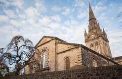 Gothic church in Scotland Stock Images