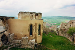 Gothic Church at Spiss Castle, Slovakia Stock Photos