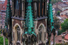 Gothic church Stock Photo