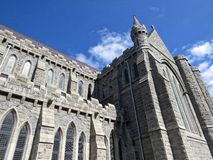 Gothic church. A view of a gothic ireland church Royalty Free Stock Images