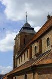 Gothic church in Wrzesnia Royalty Free Stock Photo