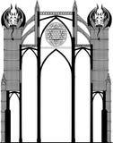Gothic churche Stock Photography