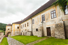 Cistercian monastery in Zlata Koruna, Czech Republic. Royalty Free Stock Images