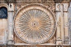 Gothic clock Stock Photos
