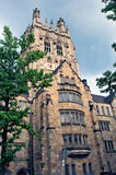 Gothic college building Royalty Free Stock Photos