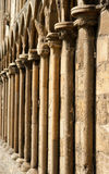 Gothic columns Royalty Free Stock Photo