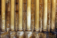 Gothic columns Stock Photos