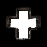 Gothic cross Stock Photography