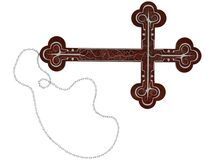 Gothic Cross Stock Photo