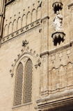 Gothic decorations of Palma de Mallorca cathedral Stock Image
