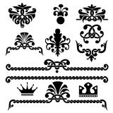 Gothic design elements Stock Photos