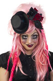 Gothic Doll Stock Photography