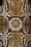 Gothic dome Stock Photography