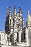 Gothic Dome Burgos Cathedral Stock Photos
