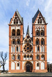 Gothic dome in Limburg, Germany in beautiful colors Royalty Free Stock Image