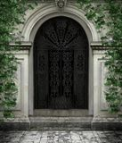 Gothic door Royalty Free Stock Photography