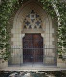 Gothic door 2 Royalty Free Stock Image