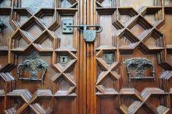 Gothic door Stock Photo
