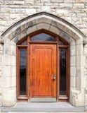 Gothic  door Stock Photo