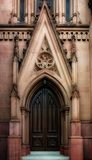 Gothic Door Royalty Free Stock Photos