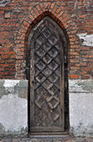 Gothic door. Royalty Free Stock Image
