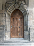 Gothic  doorway Stock Image