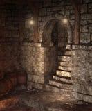 Gothic dungeon 2 Stock Photos