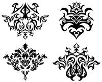 Gothic emblem set Royalty Free Stock Photography