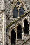 gothic english church detail Royalty Free Stock Image