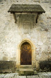 Gothic entrance. Entrance into a gothic church from 15th century Royalty Free Stock Photography