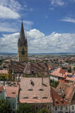 Gothic evangelical church of Sibiu Royalty Free Stock Photos