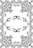Gothic exellent frame Royalty Free Stock Photography