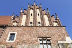 Gothic facade of Collegium Maius,  Krakow, Poland. Gothic facade of Collegium Maius, Old Town,  Krakow, Poland Stock Photos