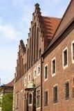 Gothic facade of Collegium Maius,  Krakow, Poland. Gothic facade of Collegium Maius, Old Town,  Krakow, Poland Royalty Free Stock Image