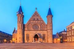Gothic facade of Ridderzaal in Binnenhof, Hague Stock Photo