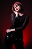 Gothic Fashion Royalty Free Stock Photography