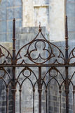 Gothic fence Royalty Free Stock Images