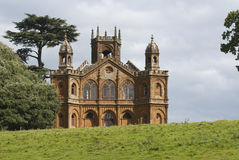 Gothic Folly. A gothic folly in Oxfordshire, England Stock Photo