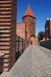 Gothic fortifications in Lembork, Poland. Royalty Free Stock Photos