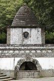 Gothic fountain Royalty Free Stock Photo