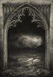 Gothic frame Royalty Free Stock Photo