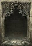Gothic frame royalty free illustration
