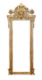 Gothic frame. Picture frame on white background stock image