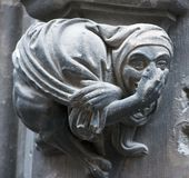Gothic gargoyle Stock Photo