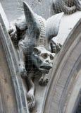 Gothic gargoyle Stock Image