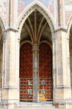 Gothic gate royalty free stock photos