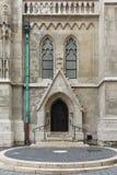 Gothic gate3. Hungary, Budapest, Matthias Church Gothic gate closed Royalty Free Stock Photography