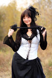 Gothic girl Stock Photos